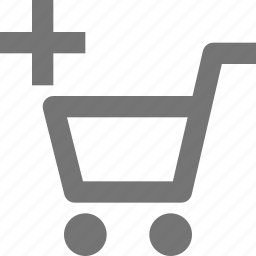 add, buy, cart, ecommerce, new, plus, shopping, store icon