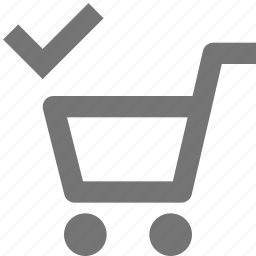 basket, buy, cart, check, ecommerce, select, shopping, store icon