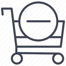 cart, delete, ecommerce, remove, shop, shopping icon