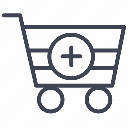 Cart, new, shopping, ecommerce, plus, shop icon - Download on Iconfinder
