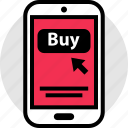 amazon, buy, cell, now, phone, shopping icon