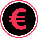 buy, euro, funds, money, pay, sign icon