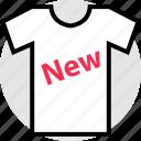 merchandise, new, pay, tshirt icon