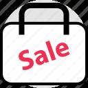 bag, mall, merchandise, sale icon