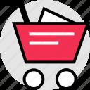 add, cart, merchandise, shop, shopping icon