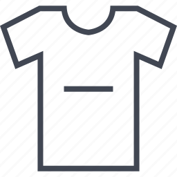 ecommerce, online, shirt, shop, shopping, subtract icon