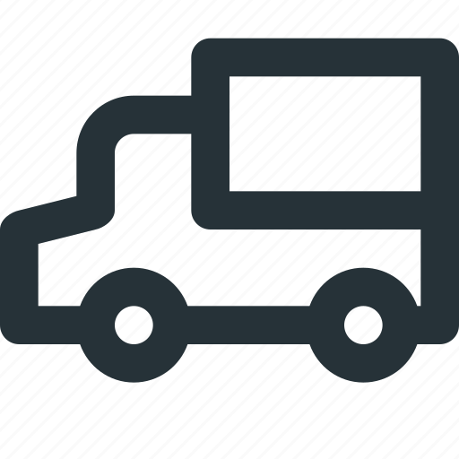 car, courier, express, shipping, transport, truck icon