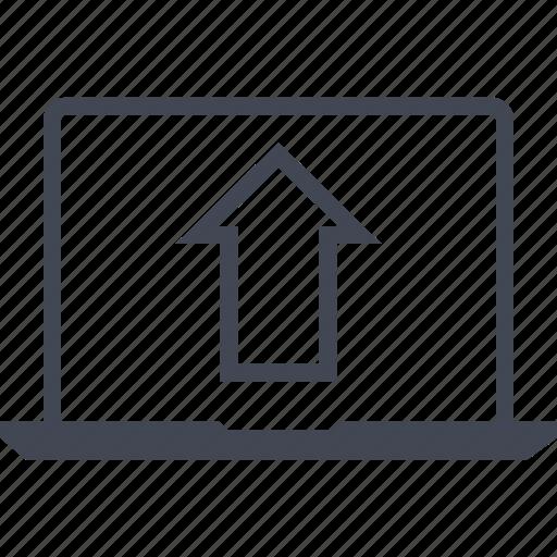 ecommerce, online, shop, shopping, upload icon