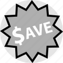 funds, money, price, save, tag icon