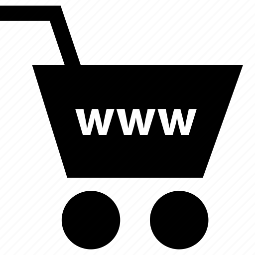 business, cart, money, online, www icon