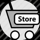 cart, ecommerce, onine, shop, shopping, store, web icon