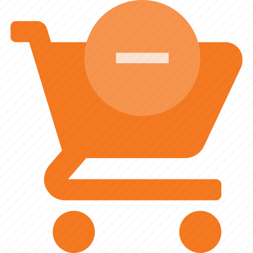 action, buy, cart, minus, remuve, shop, store icon
