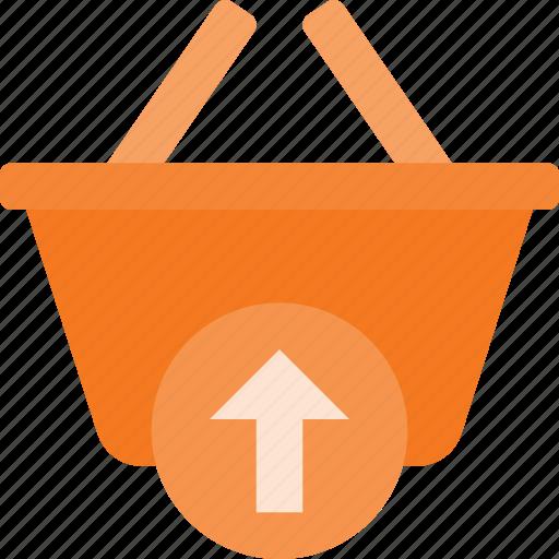 action, basket, buy, output, shop, shopping icon