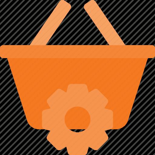 action, basket, buy, settings, shop, shopping icon