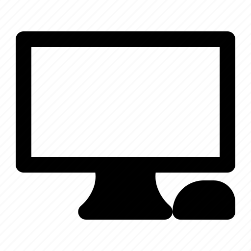 computer, device, monitor, technology icon