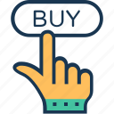 buy, buy online, ecommerce, shopping, web icon