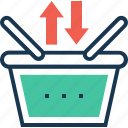 basket, ecommerce, item, product, shopping icon