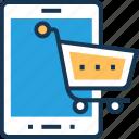 app, cart, m commerce, online shopping, shopping app