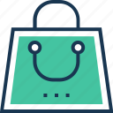 bag, commerce, shopper, shopping, tote bag icon