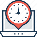 chronometer, countdown, stopwatch, timer, timezone icon