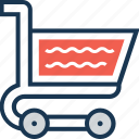 ecommerce, online store, shopping, store, trolley