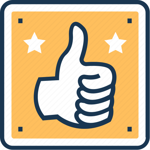 done, hand gesture, like, ok, thumbs up icon