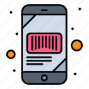 barcode, mobile, phone, scan, scanner