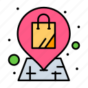bag, location, shop, shopping