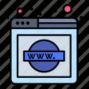 domain, explorer, network, web, website, wide, world
