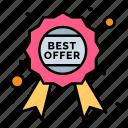 award, badge, guaranteed, label, offer, quality