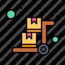 cart, handcart, luggage, pushcart, trolley