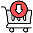 add product, add to trolley, cart, ecommerce, save, save to cart, shopping icon