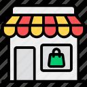 commercial building, marketplace, shop, store, storefront