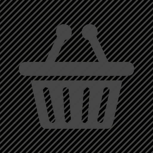 basket, cart, commerce, finance, money, shopping icon
