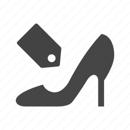cloth, commerce, finance, money, shoe, shopping icon