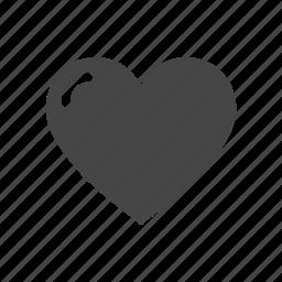 commerce, finance, heart, love, money, shopping icon