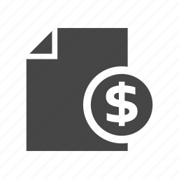commerce, finance, information, list, money, shopping icon