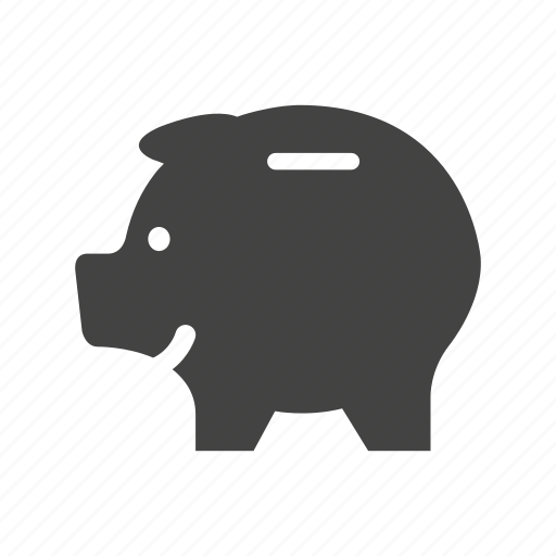 commerce, finance, money, pig, save, shopping icon