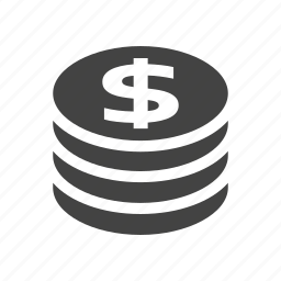 cash, coin, commerce, finance, money, shopping icon