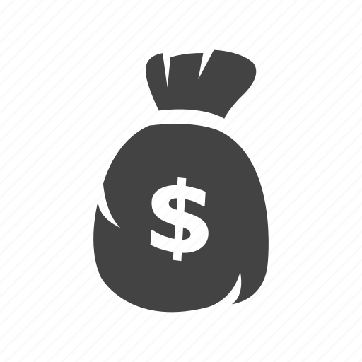 commerce, finance, money, money bag, payment, shopping icon