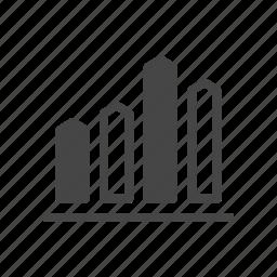 commerce, finance, graph, money, presentation, shopping icon