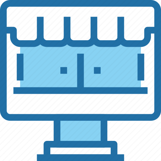business, computer, online, shop, shopping, store icon