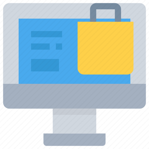 business, computer, ecommerce, online, shop, shopping icon