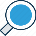 magnifier, magnifying glass, search web, searching, searching glass, zoom, zoom glass icon