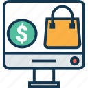 buy online, e commerce, ecommerce, online shop, online shopping, online store, shopping store icon