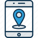 gps device, gps tracker, handheld gps, handheld navigation, map locator, navigation device icon