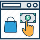 checkout payment, credit card, e banking, e commerce, online banking, online payment, online shopping payment icon