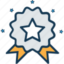 badge, premium badge, quality, quality badge, ranking, rating, star badge icon