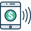 banking, business, credit card, mobile, mobile payment, online payment, payment icon