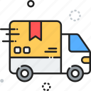 delivery, logistics, shipping, truck